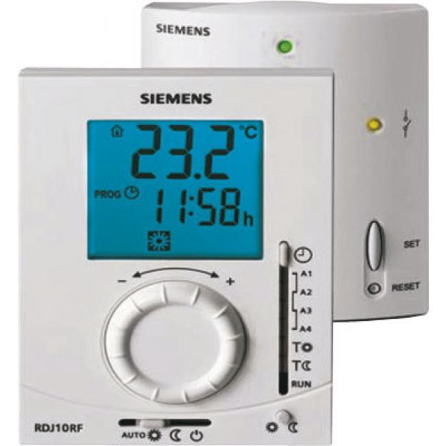 SIEMENS Thermostat sans fil journalier RDJ10RF/SET
